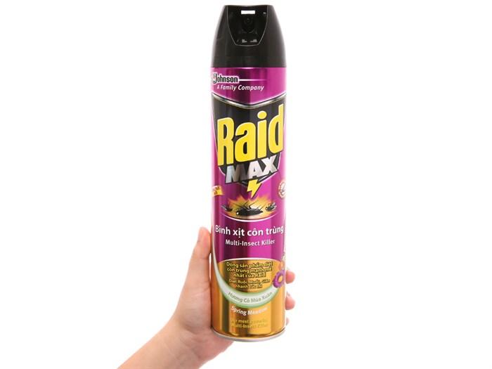 Bình xịt côn trùng Raid Bang